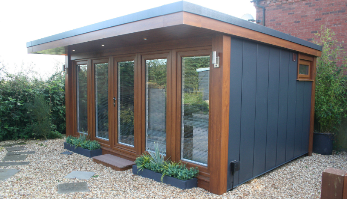 Garden Office Used For Psychotherapy