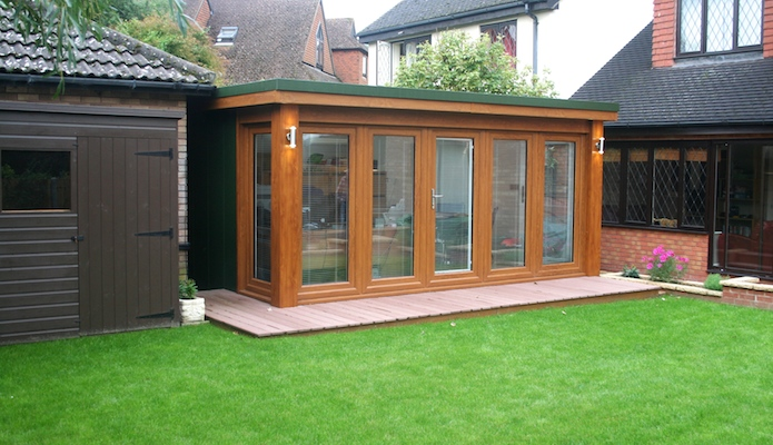 Jeremys 15' x 9' garden office
