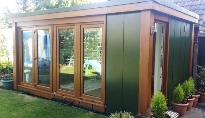 Cloakroom For Your QC6/7 Garden Office Garden Studio Or Granny Annexe