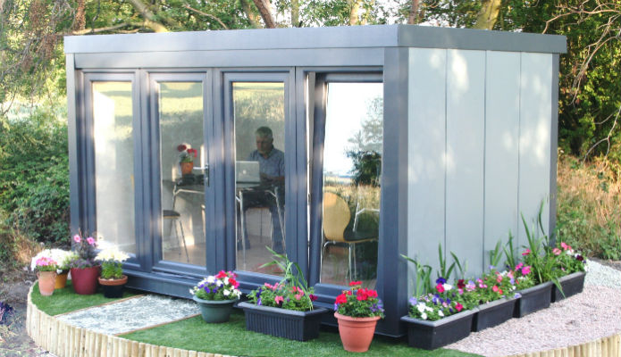 Renting a garden office for Garden studio uk