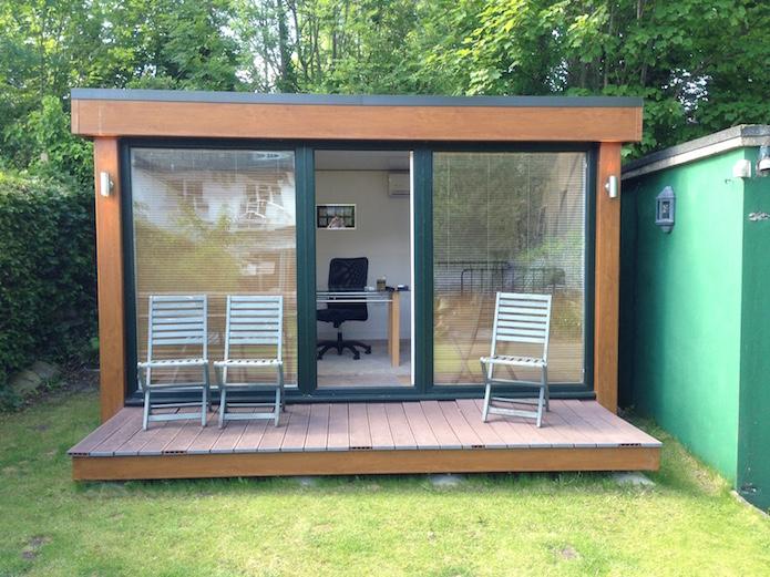 second hand 12 x 10 qc2 garden studio and garden office big garden office ian