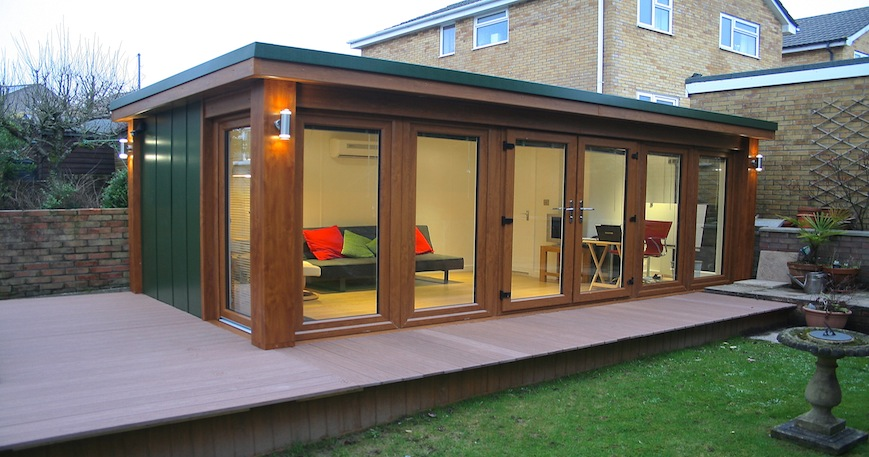 Garden room for father for The garden studio