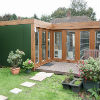 L Shape Garden Annexe in Leicestershire